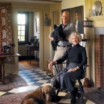 Pat and Liz lovingly restored the old farmhouse over time for their family and pups.