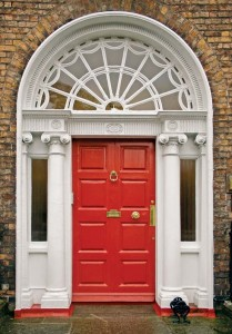Colonial Revival door