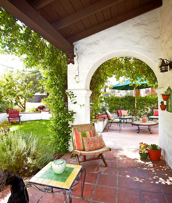 Visiting a 1930s california casita old house online for Casita plans for backyard