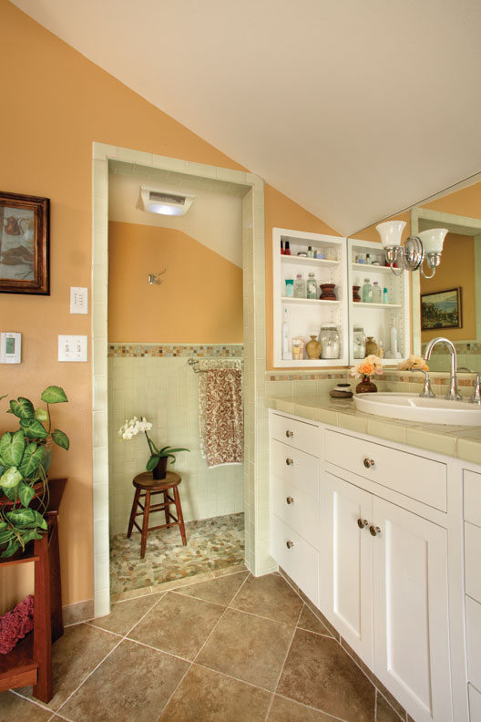 Adding a dormer for a bathroom makeover old house online old house online for How to add a bathroom to a house