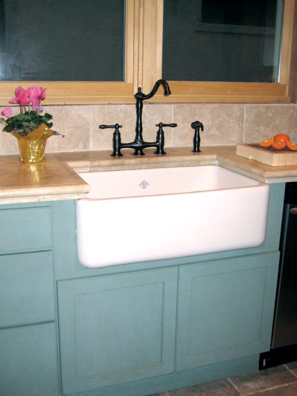 Adventures in Installing a Kitchen Sink - Old-House Online - Old-House ...