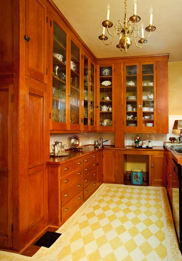 Kitchen Amp Pantries In A 1908 Colonial Revival Old House