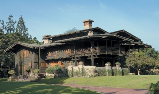 With eaves two to three times deeper than houses of the period, the 1908 Gamble House was unusual even in its day.