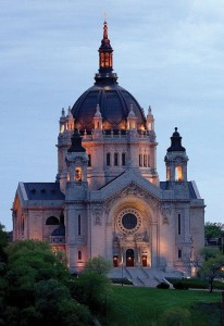Baroque details highlight St. Paul Cathedral, a must-see on any Twin Cities tour.