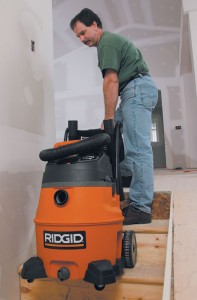 Well-placed handles and wheels are ergonomic innovations that make transporting vacuums up stairs and around obstacles less onerous.