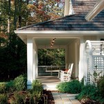 Open porches offer a welcoming farmhouse touch.