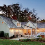 The architect chose HardiPlank vertical board-and-batten siding to clad the house for its durability.