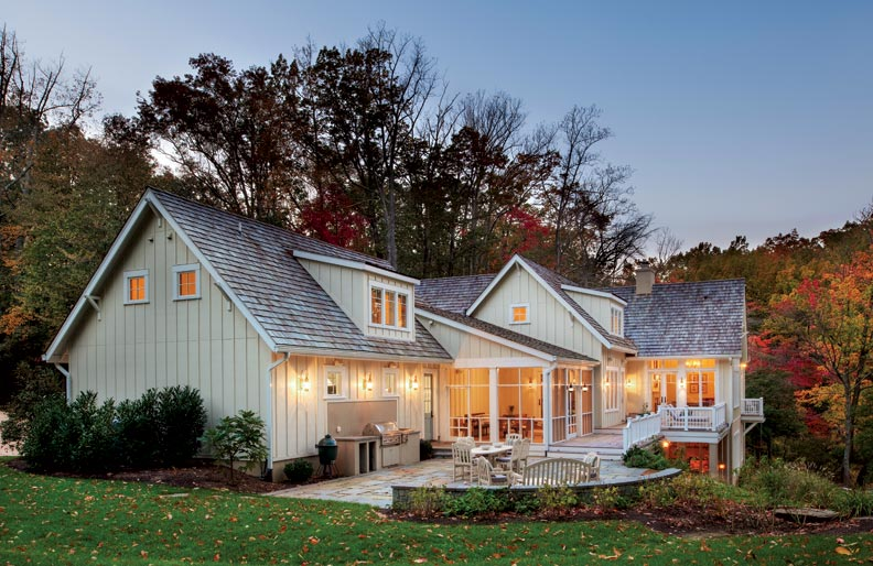 An Airy Lakeside Retreat Old House Online Old House Online
