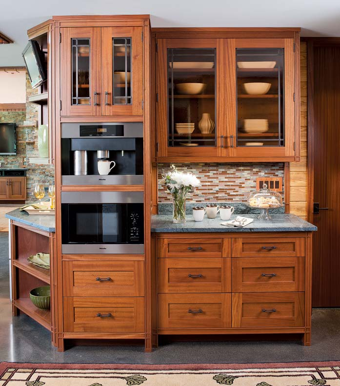 A Frank Lloyd Wright Inspired Kitchen Old House Online Old House Online