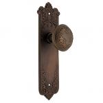 Wrought bronze Lorraine door set from House of Antique Hardware