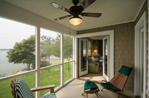Views of the lake can be enjoyed from the home from almost every room.