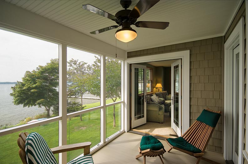 A new bungalow with authentic details old house online for Craftsman screened porch