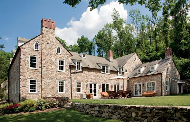 Reviving a stone farmhouse old house online old house for Pennsylvania stone farmhouses