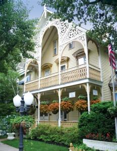 One of Ocean Grove's most exuberant examples of Victorian embellishment.