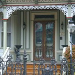 Spandrel on a Victorian porch