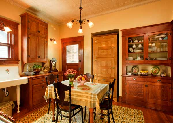Authentic Turn Of The Century Kitchen Old House Online