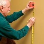 Measure the bracket locations