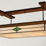 Traditional-style Mission ceiling light from Mission Studio