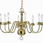Williamsburg chandelier by Newstamp Lighting