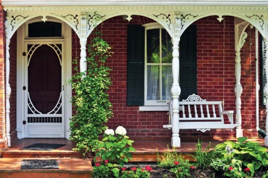 Old house porch