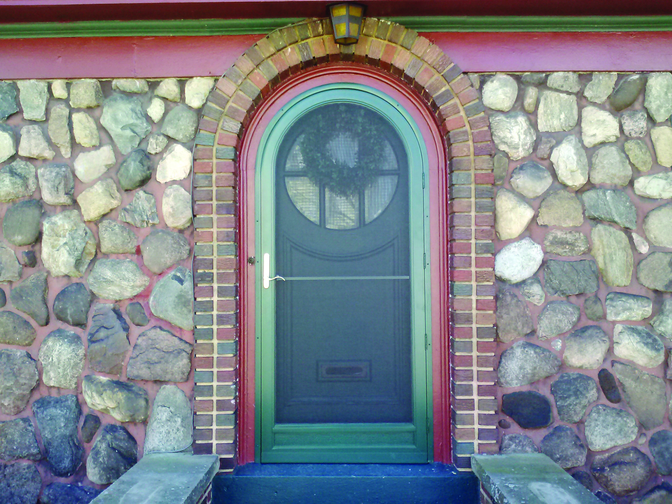 Arch Angle Windows Amp Doors Old House Online Old House