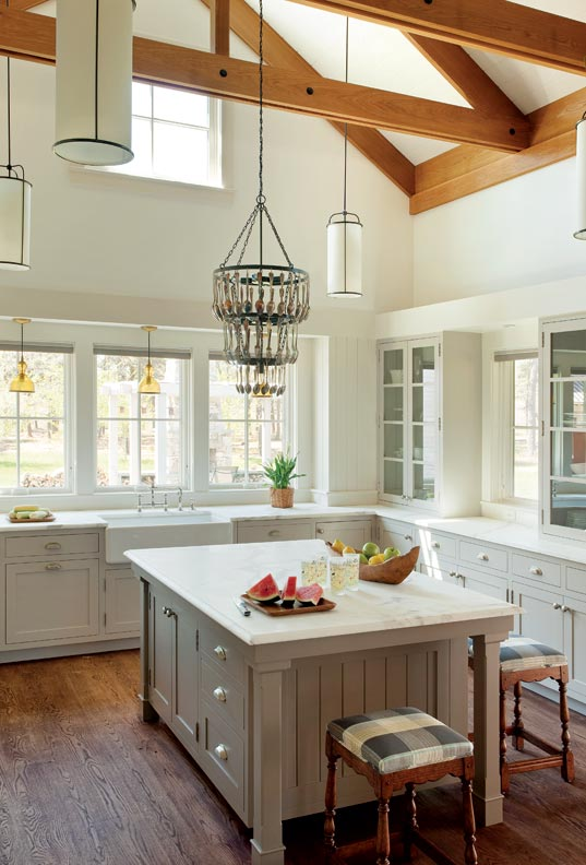 6 ways to make a new kitchen look old old house online for How to make old kitchen cabinets look new
