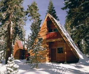 The Sierra Club was an early adopter of the A-frame. The Bradley Hut was dismantled in 1997 and reconstructed four miles from its original site.