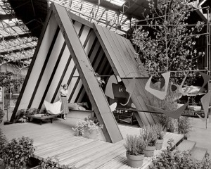 John Campbell's Leisure House, featured at the 1951 San Francisco Arts Festival, was high-art modernist design, yet affordable to the masses.