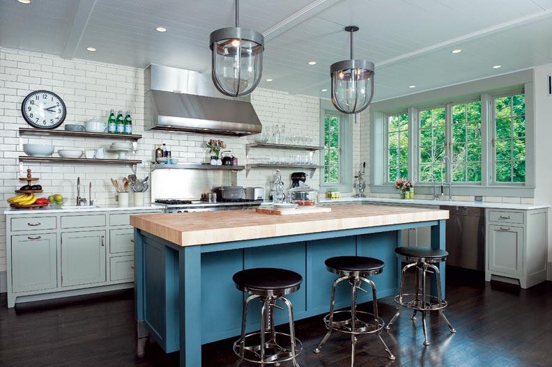 Industrial Kitchen Cabinets