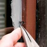 Inserting sash clips