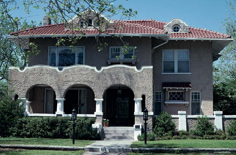 Spanish architecture in america old house online old for Spanish revival exterior paint colors