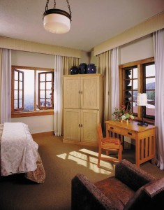 For a true Arts & Crafts immersion, request a room in the historic Main Inn.