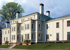 Built in the late 18th century, the Lyman Estate's main house was remodeled over the years by successive generations.
