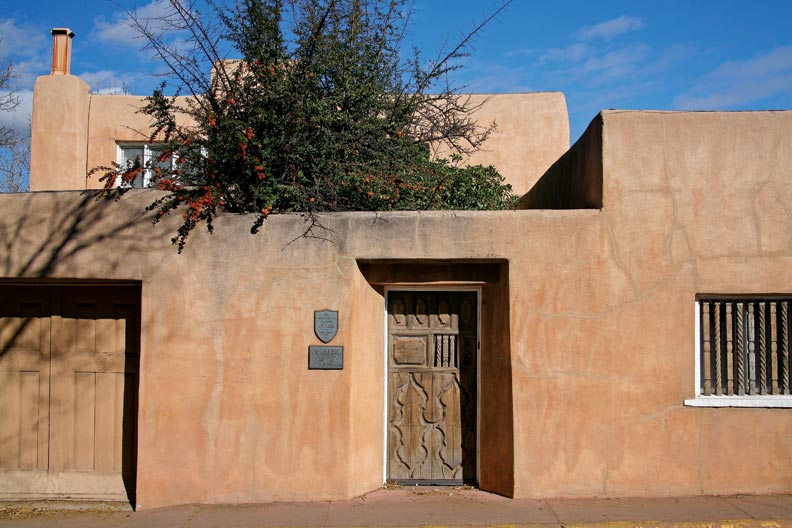 Old santa fe style homes