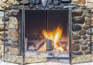 Remember to keep dampers closed when the fireplace isn't in use.