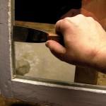 Step 6: Set glazing points