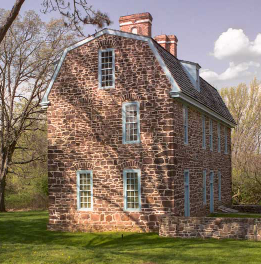 Stone houses of eastern pennsylvania old house online for Stone built homes