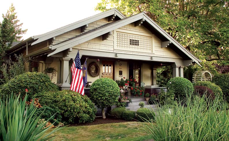 How to design a bungalow porch old house online old for Arts and crafts porch columns