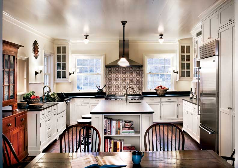 A new federal style farmhouse old house online old for Federal style kitchen