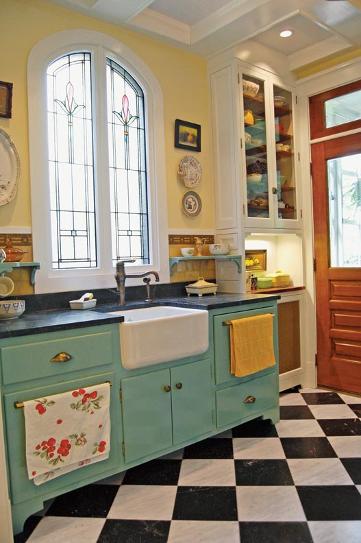 eclectic kitchens mixed materials - Eclectic Kitchen