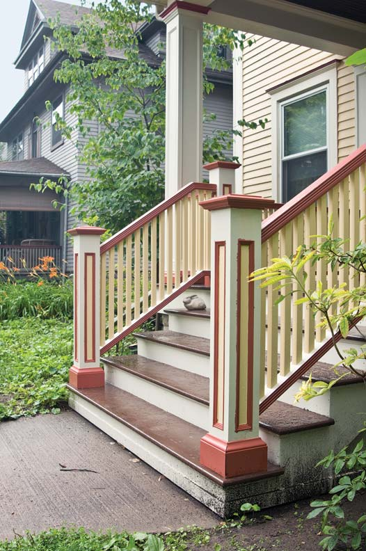 Wood Patio Steps Pictures: How To Rebuild Porch Stairs