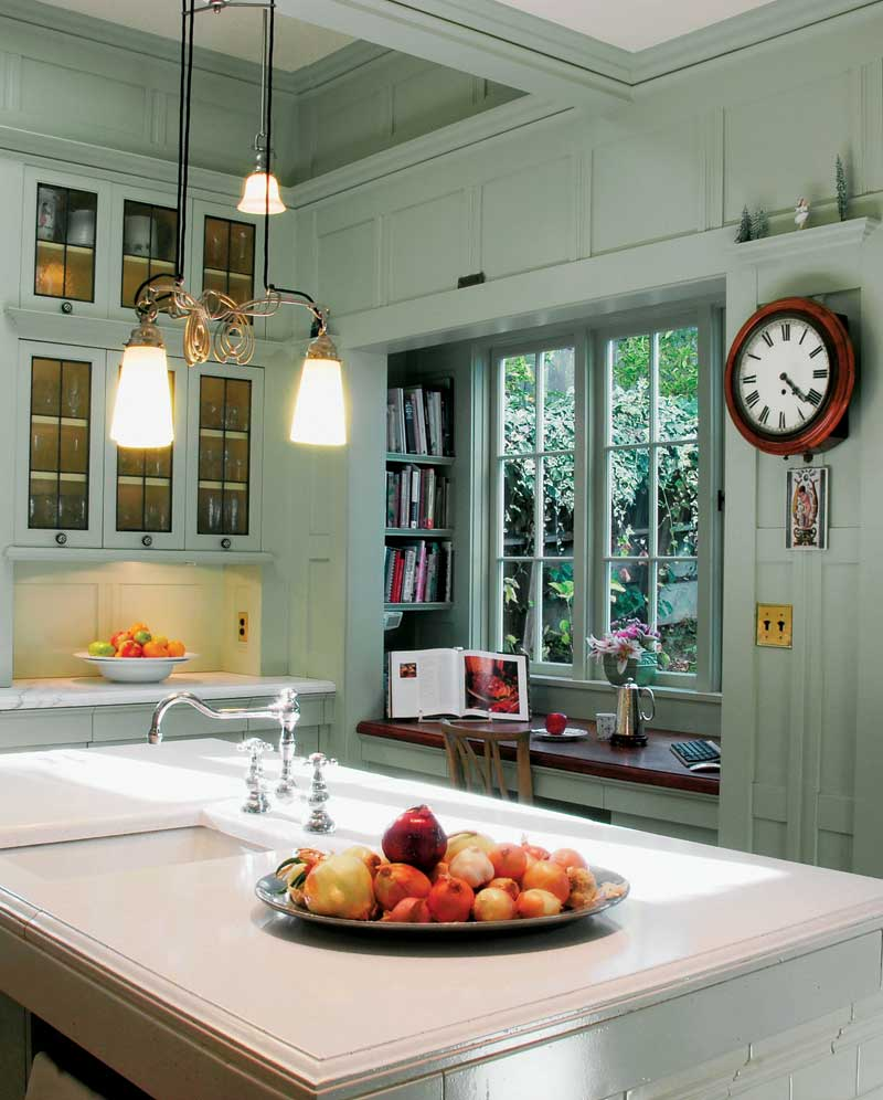 Kitchen With Living Room Design: Edwardian Kitchens