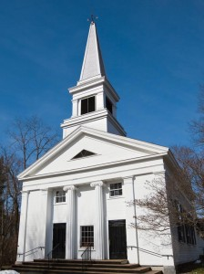 First Parish church dates to the 1840s.