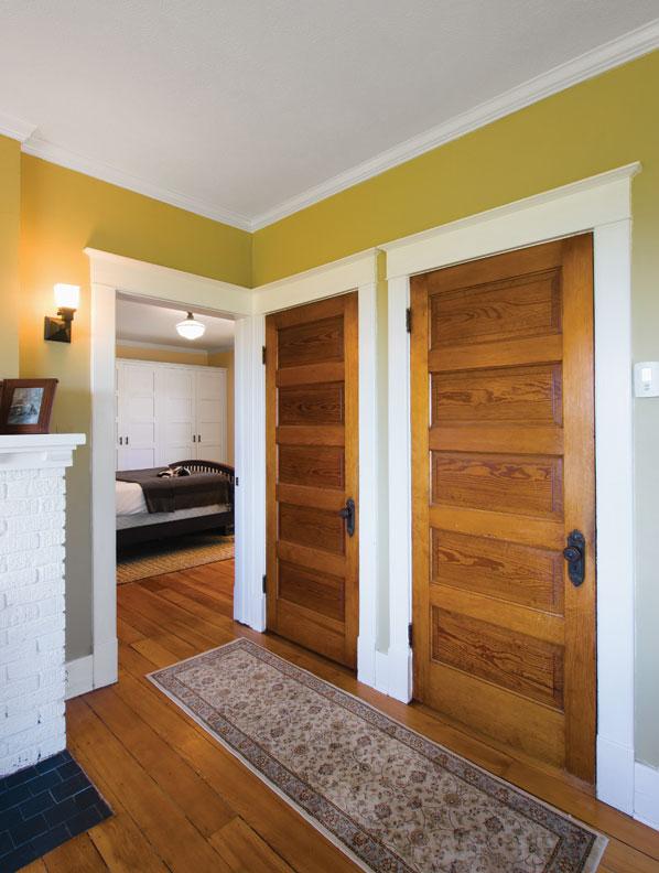 Restoring A Craftsman Farmhouse Old House Online Old House Online