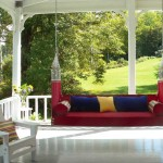 The 'Bar Harbor' from Penobscot Bay Porch Swings was inspired by vintage swings from coastal Maine.