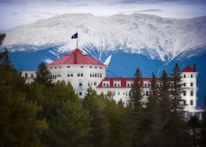 The Mount Washington Resort boasts impressive views of the White Mountains.