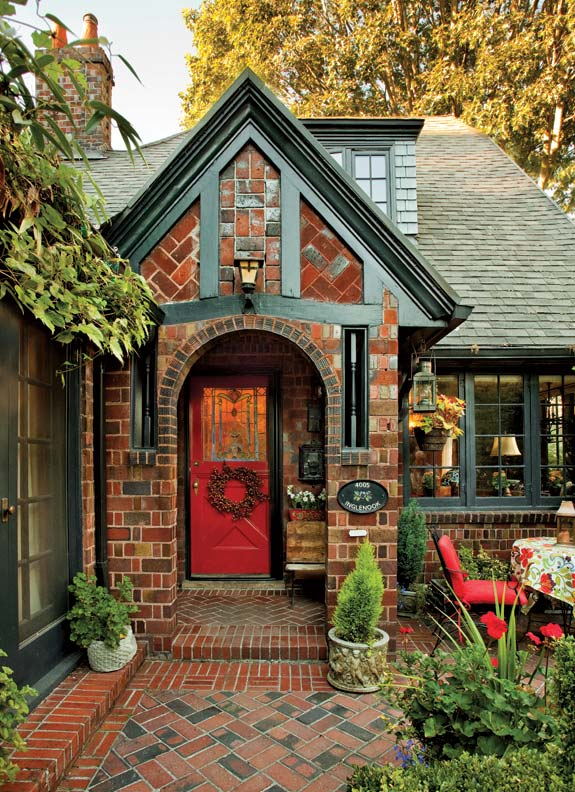 A textbook 1920s tudor in portland old house online for French tudor