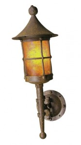 Mica Lamp Co. Fantasy Torch