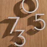 These simple aluminum numbers from Design Within Reach are replicas of ones created by another famed mid-century architect, Richard Neutra.