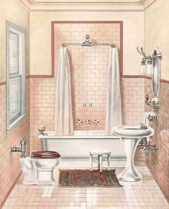 The early 20th century saw the short-lived reign of the tankless pressure-valve toilet.